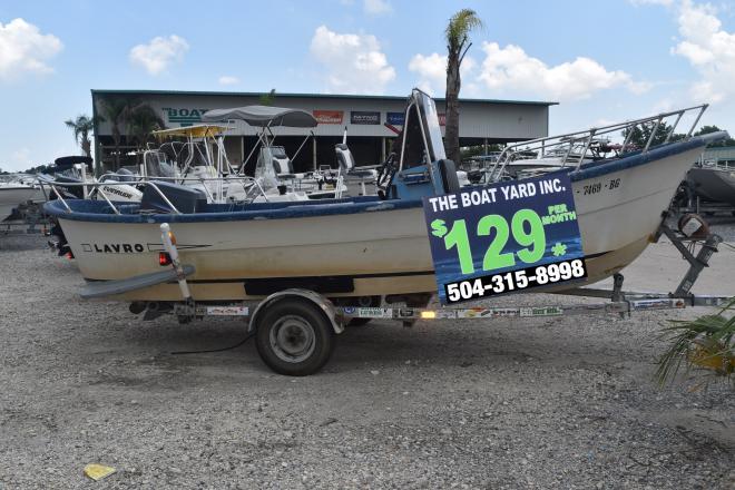 1983 Lavro 20-D (HULL & TRAILER) - For Sale at Marrero, LA 70072 - ID 150925