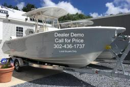 2019 Cobia 261 CC Custom Dealer Demo