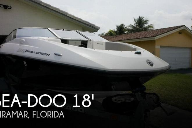 2011 Sea Doo 180 Challenger Supercharged - For Sale at Hollywood, FL 33023 - ID 112018