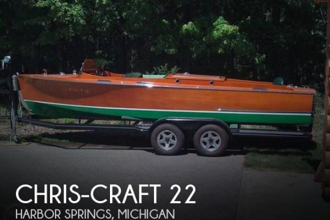1931 Chris Craft 22 Triple - For Sale at Harbor Springs, MI 49740 - ID 161140