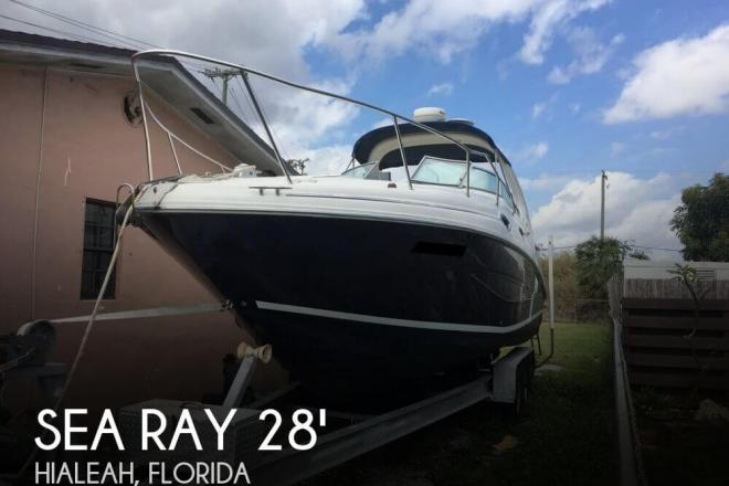 2004 Sea Ray 280 Sundancer - 2011 Mercruisers 5.0 MPI - For Sale at Hialeah, FL 33002 - ID 138610