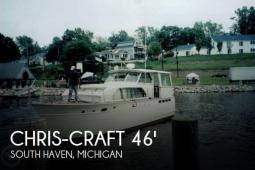 1964 Chris Craft Constellation 46