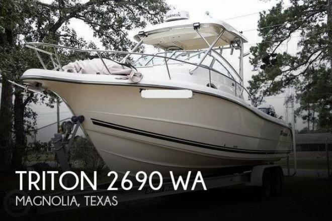 2007 Triton 2690 WA - For Sale at Magnolia, TX 77353 - ID 161267