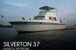 1986 Silverton 37 Convertible