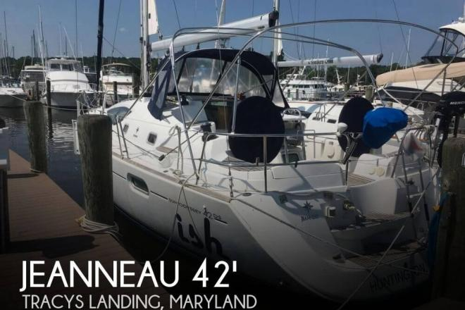2007 Jeanneau Sun Odyssey DS - For Sale at Tracys Landing, MD 20779 - ID 136111