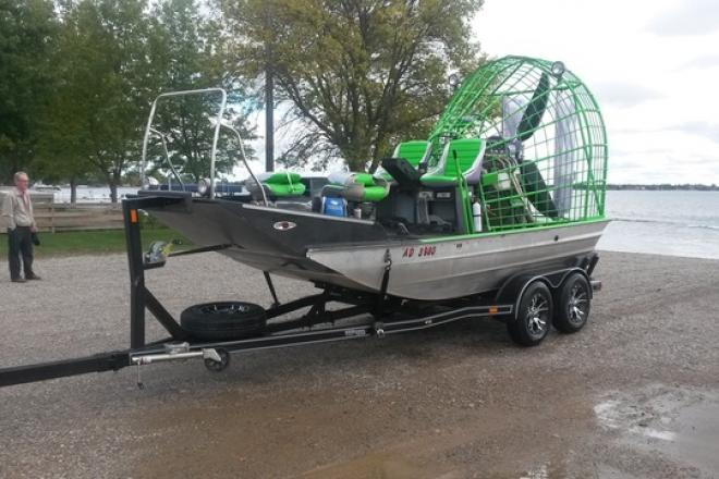 2002 Silver Dollar Airboat - For Sale at Watertown, SD 57201 - ID 162248
