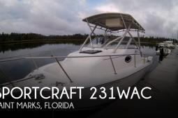 1999 Sportcraft 231WAC