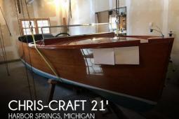 1937 Chris Craft 21 Deluxe