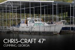 1968 Chris Craft Commander 47