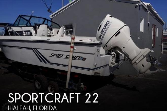 1989 Sportcraft Fishmaster 222 - For Sale at Hialeah, FL 33018 - ID 163098