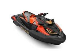 2019 Sea Doo RXT®-X® 300 IBR & Sound System Eclipse Black and Lava Red