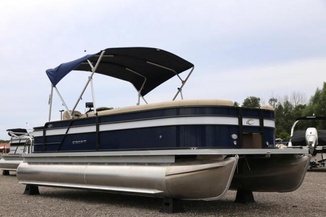 2019 Crest I Fish 220 SF - For Sale at Coopersville, MI 49404 - ID 158043