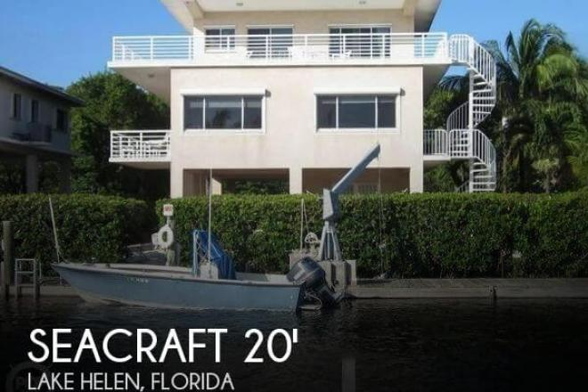 1973 Sea Craft 20' Open Fisherman - For Sale at Lake Helen, FL 32744 - ID 138880