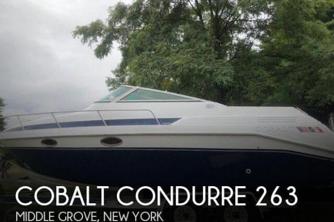 1990 Cobalt Condurre 263 - For Sale at Middle Grove, NY 12850 - ID 148625