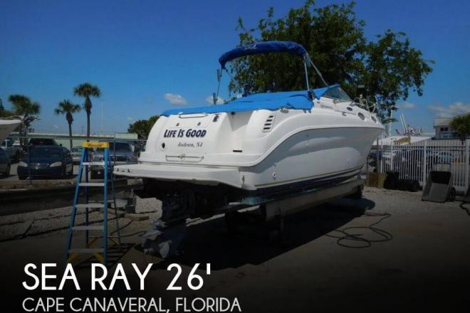 2002 Sea Ray 260 Sundancer - For Sale at Cape Canaveral, FL 32920 - ID 162831