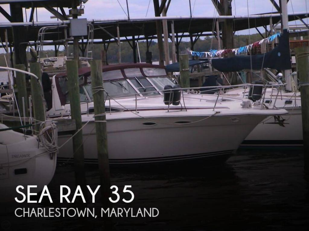 For Sale 1990 Sea Ray 350 Sundancer 43 900 At Charlestown Md