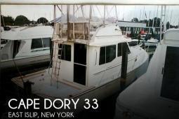 1989 Cape Dory 33 PY
