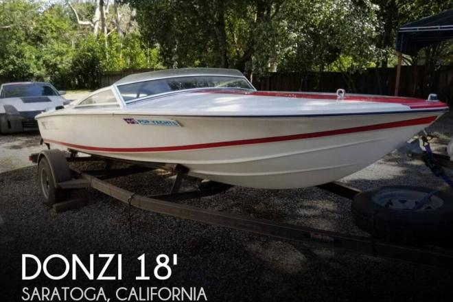 1991 Donzi Classic 18 2 plus 3 - For Sale at Saratoga, CA 95070 - ID 162973