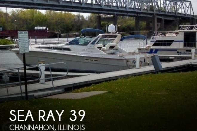 1987 Sea Ray 390 EC - For Sale at Channahon, IL 60410 - ID 165413