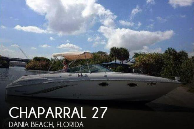 2002 Chaparral 285 SSI - For Sale at Dania, FL 33004 - ID 165614