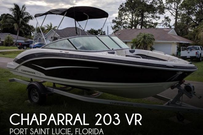 2015 Chaparral 203 VR - For Sale at Port Saint Lucie, FL 34983 - ID 143225