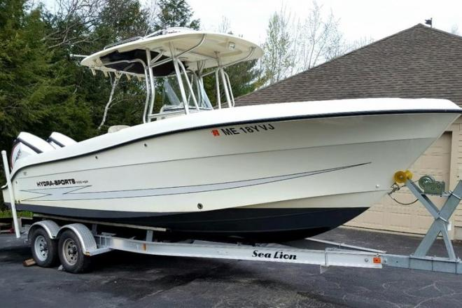 2007 Hydra Sports 2500 Vector CC - For Sale at Biddeford, ME 4005 - ID 165636