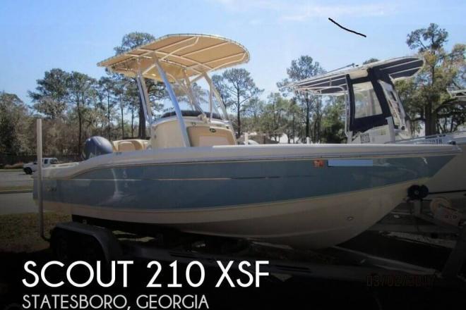 2015 Scout 210 XSF - For Sale at Statesboro, GA 30458 - ID 111581