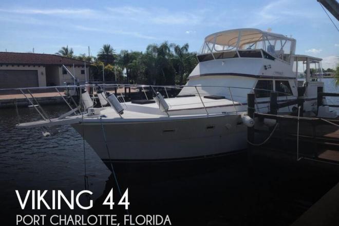 1983 Viking 44 Aft Cabin - For Sale at Port Charlotte, FL 33952 - ID 165740