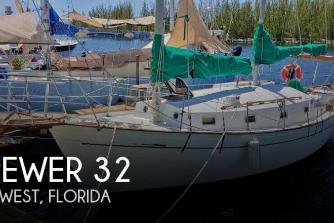 1977 Brewer Lazy Jack 32 - For Sale at Key West, FL 33041 - ID 165626