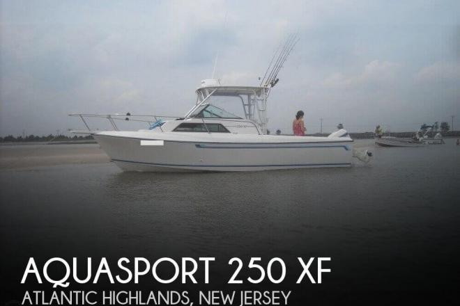 1984 Aquasport 250 XF - For Sale at Atlantic Highlands, NJ 7716 - ID 48084