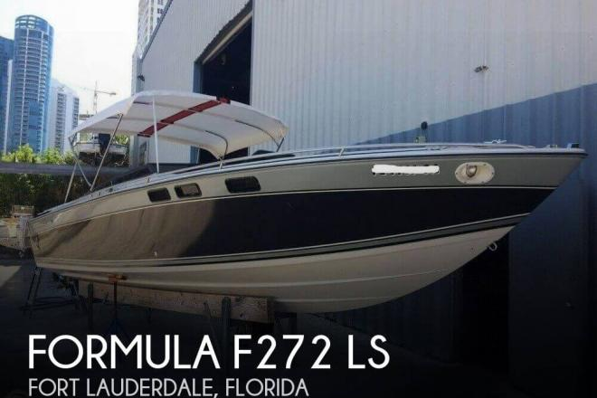 1984 Formula F272 LS - For Sale at Fort Lauderdale, FL 33315 - ID 165686