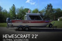 2014 Hewescraft Ocean Pro 220