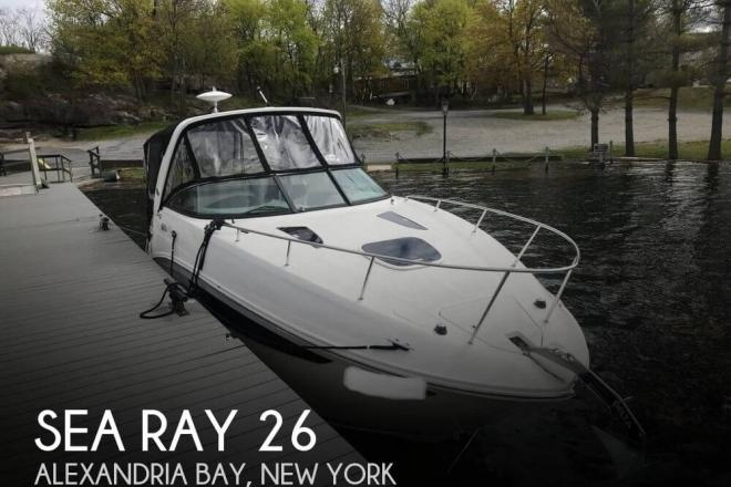 2015 Sea Ray 260 Sundancer - For Sale at Wellesley Island, NY 13640 - ID 165627