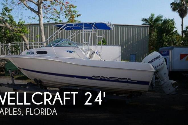 1995 Wellcraft Excel 23 Fish - For Sale at Naples, FL 34104 - ID 165540