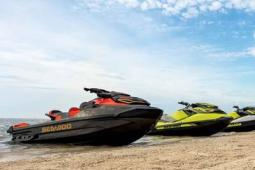 2019 Sea Doo RXP®-X® 300 Black and Lava Red