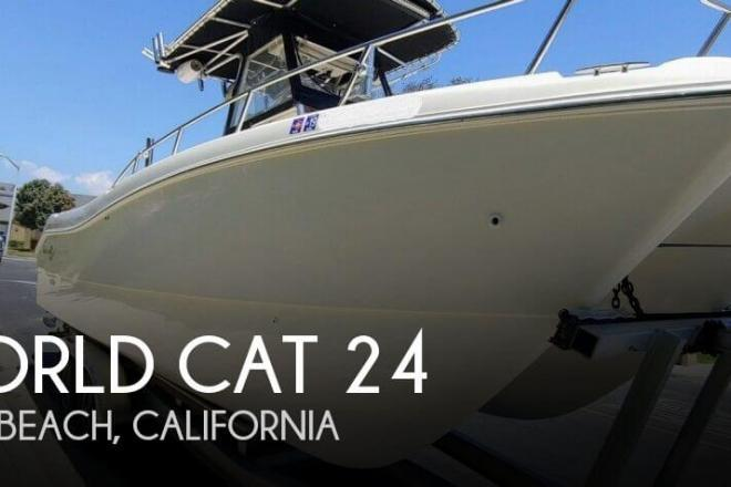 1999 World Cat 246SF/CC - For Sale at Seal Beach, CA 90740 - ID 166492
