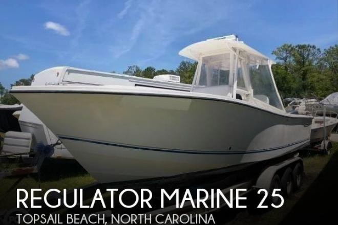 2001 Regulator 26FS - For Sale at Topsail Beach, NC 28445 - ID 165795