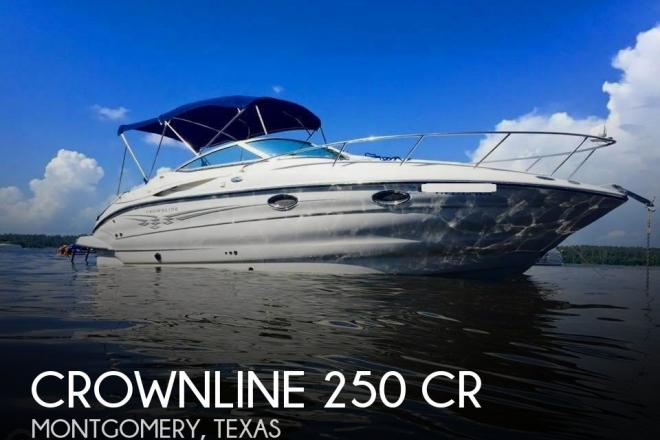 2004 Crownline 250 CR - For Sale at Montgomery, TX 77356 - ID 165946