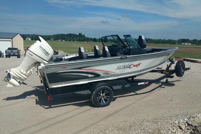 2019 Alumacraft Edge 185 Sport---The perfect fish and ski! - For Sale at Jefferson Cty, MO 65101 - ID 166796