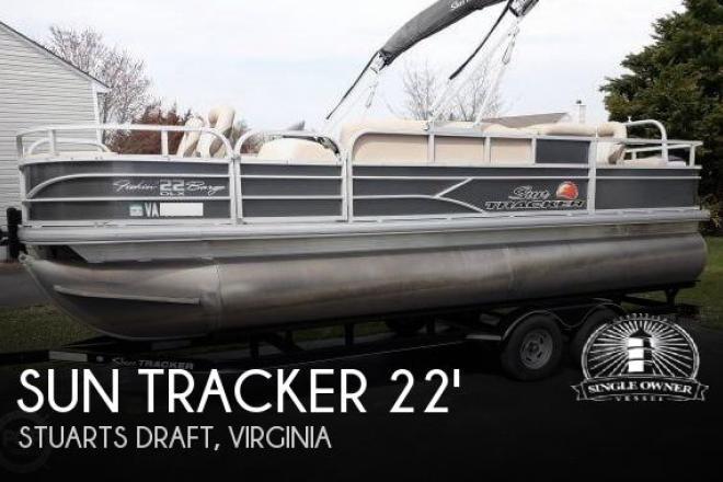 2016 Sun Tracker 22 DLX Fishin Barge - For Sale at Stuarts Draft, VA 24477 - ID 165735