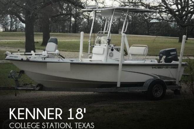 2003 Kenner 18 Center Console - For Sale at Thornton, TX 76687 - ID 161690