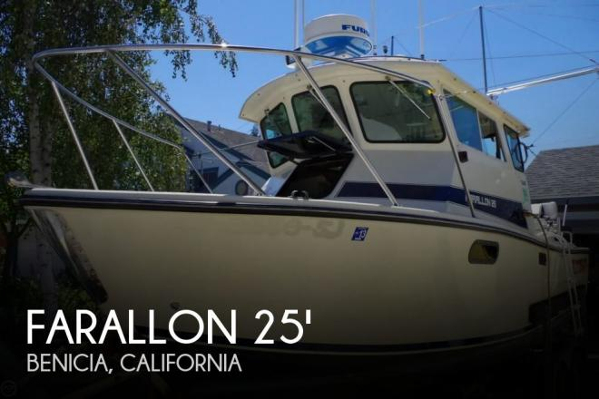 1992 Farallon Whaleback 25 - For Sale at Benicia, CA 94510 - ID 161459