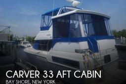 1992 Carver 33 Aft Cabin