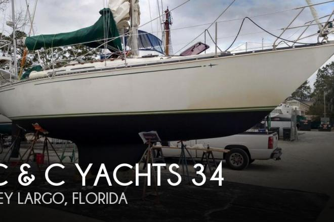1982 C & C 34 - For Sale at Key Largo, FL 33037 - ID 159347
