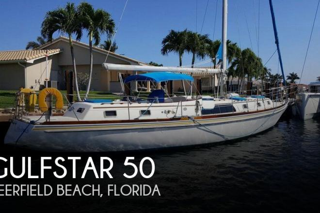 1977 Gulfstar 50 - For Sale at Fort Lauderdale, FL 33312 - ID 158831