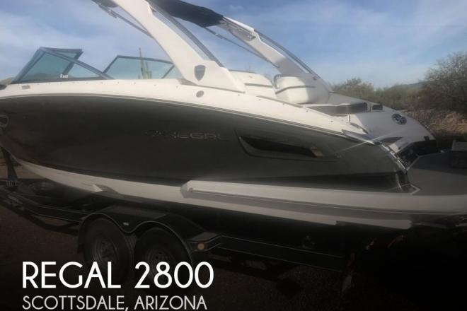 2016 Regal 2800 - For Sale at Scottsdale, AZ 85250 - ID 158890