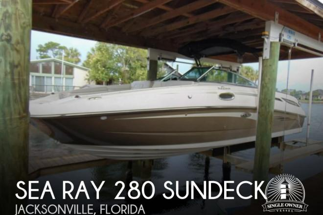 2012 Sea Ray 280 Sundeck - For Sale at Jacksonville, FL 32201 - ID 144569