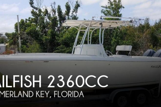 2006 Sailfish 2360cc - For Sale at Summerland Key, FL 33042 - ID 157813