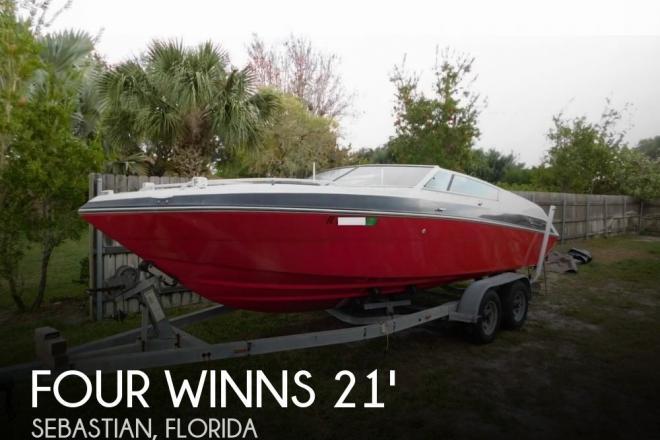 1988 Four Winns Liberator 201 - For Sale at Sebastian, FL 32958 - ID 158734