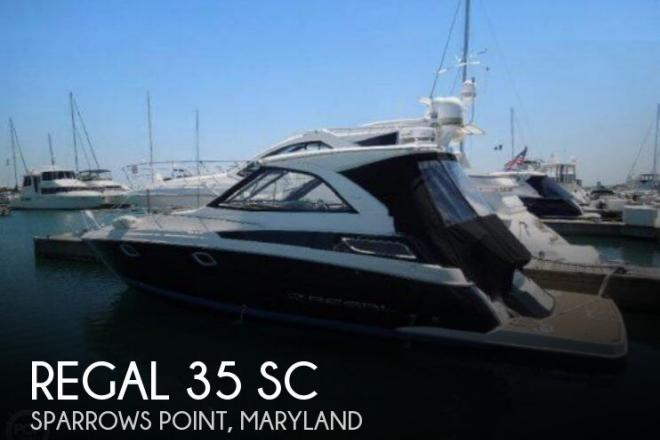 2013 Regal 35 SC - For Sale at Sparrows Point, MD 21219 - ID 157685